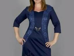 Трикотажное женское платье Яся