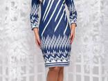 Трикотажное женское платье(50-56р) , доставка по Украине - фото 1