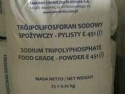 Триполифосфат натрия пищевой от 25кг
