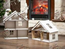 Трьохповерховий будинок для ляльки LOL - трехэтажный домик для куклы ЛОЛ с мебелью. ..