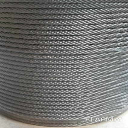 Канат из нержавеющей стали ДИН 3053 (ГОСТ 3063-72) 7,00 мм,
