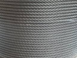 Трос нержавеющий 10. 0 мм DIN 3055 (7х7)