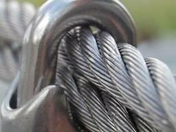 Трос оцинкованый 7 мм
