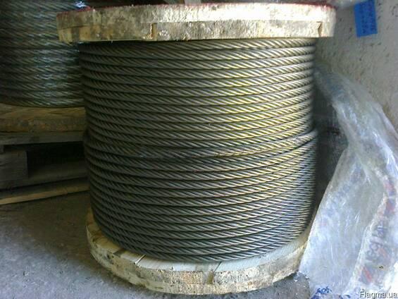Трос стальной 15,0 ГВН-180 ГОСТ 7668-80 в Крыму