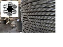 Трос, канат стальной ф24 мм, ГОСТ 2688-80, купить, цена,