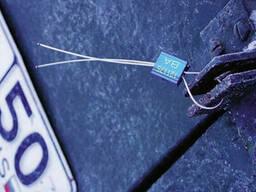 Тросовая пломба ЗПУ длина 300 мм, диаметр 0, 9 мм