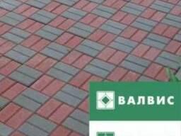 Тротуарная бетонная плитка от производителя.