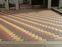Тротуарная плитка любая от 1 м кв