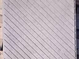 Тротуарная плитка 50х50см 500х500мм