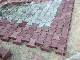 Тротуарная плитка Двойное Т 200*165*80 мм
