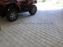 Тротуарная плитка Двойное Т или Катушка, 60мм