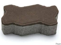 Тротуарная плитка Фалка 30-15-10 венге