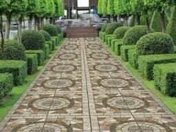 Тротуарная плитка (ФЭМ) от производителя