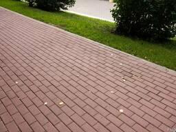 """Тротуарная плитка """"Кирпич"""" в наличии любые объемы"""