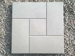 Тротуарная плитка (Квадрат кирпич)
