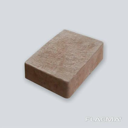 Тротуарная плитка коричневая Львовская 5 см