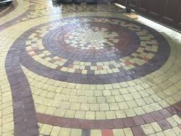 Тротуарная плитка, огромный выбор форм и цветов!
