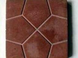Тротуарная плитка Солнышко декоративная