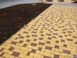 """Тротуарная плитка""""Старый город""""45мм коричневая - фото 8"""