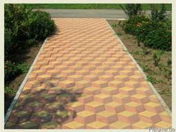 Тротуарная плитка. Укладка