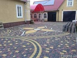 Тротуарная плитка в Одессе | Укладка- Гарантия 5 лет. Звони!