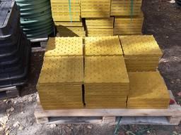 Тротуарная тактильная плитка 330х330х30