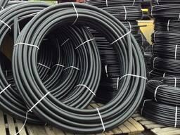 Труба 140мм пластиковая (полиэтиленовая) водопроводная (пнд)