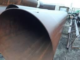 Труба 630 мм, отрезаем куски