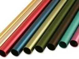 Алюминиевые трубы анодированные (круглые и квадратные)