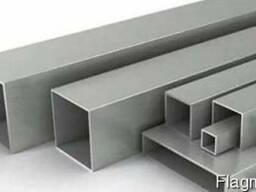 Труба алюминиевая квадратная ПАК-0012 10х10х1 / AS