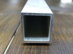 Труба алюминиевая профильная 25х25х1, 5, Анод, б. п. , цена