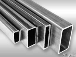 Труба алюминиевая профильная 80х20х2 мм ГОСТ купить цена