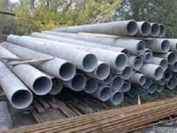 Кременчук труба азбестоцементна ВТ6 і ВТ9 є розміри труби азбестові САМ 100-500