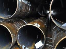 Труба (металлопрокат) стальная 203х8