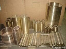 Втулка бронзовая купить, втулка цена, заготовка бронзовая, литье бронзовое купить, Браж,