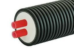 Труба двойная ППУ Austroisol 2-63x5. 8мм