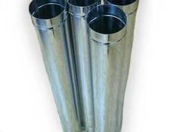 Труба дымоходная из нержавеющей стали 100х1 0,8мм