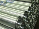 Труба гофрированная алюминиевая эластичная - фото 3