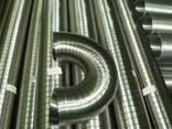 Труба, гофрированная эластичная из нержавеющей стали - фото 3