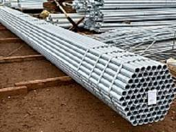 Труба оцинкованная стальная ДУ 20х2,5мм ГОСТ 3262-75