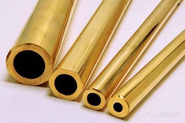 Труба латунная ЛС-59 и Л63 со стенкой от 1 мм
