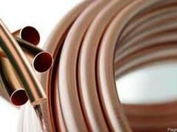 Труба медная м1 твердая от 1 метра трубы медные