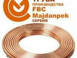 Труба медная кондиционерная 6,35х0,8 мм 1/4 дюйма