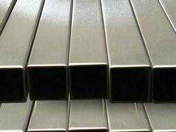 Труба н/ж квадратна полiрована 50х50х2 Aisi 201(12Х15Г9НД)