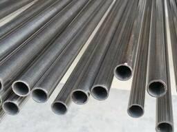 Труба нержавеющая круглая полированная AISI 201 76, 1х2, 0 мм.