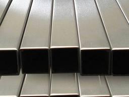 Труба нержавеющая профильная 16х16х1, 2мм AISI 201 мат/полир