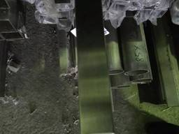 Труба нержавеющая профильная 60Х40Х1,5 AISI 201 (600 grit)
