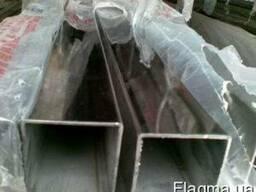 Труба нержавеющая профильная полированная 100х50х2,0 мм 304