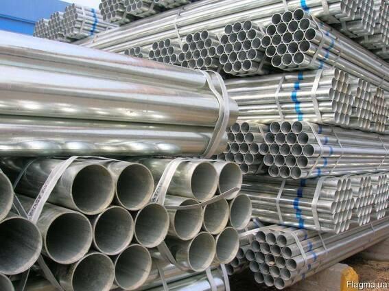 Труба профильная оцинкованная 25х25х2,0 мм, труба купить,