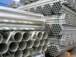 Київ труба оцинкована від 57 до 159 мм діаметр ГОСТ 10705-10706 труби оцинковані порізка